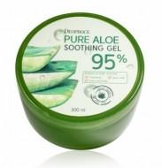 Гель мультифункциональный с алоэ DEOPROCE Pure aloe soothing gel 95% 300мл