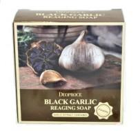 Мыло антивозрастное с черным чесноком DEOPROCE Soap black garlic reaging 100г